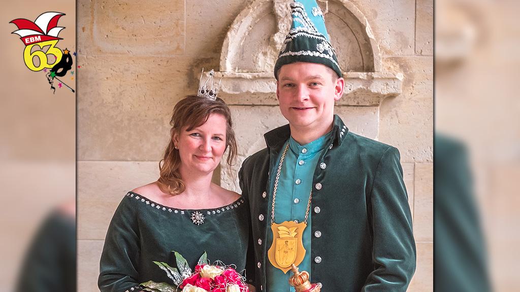 Elferrat Bad Muskau EBM Hofball 2018 Prinzenpaar