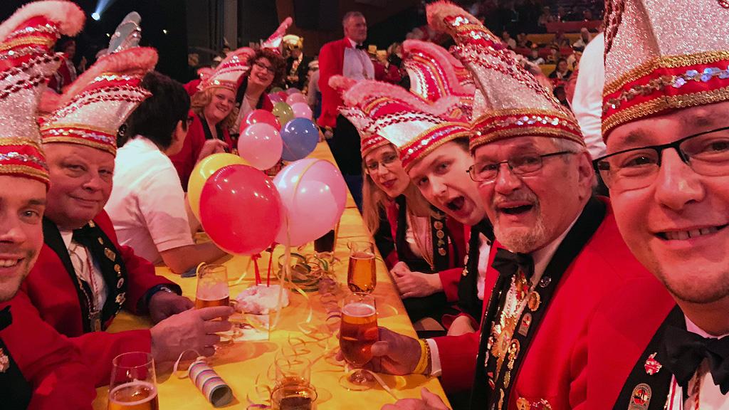 Elferrat Bad Muskau EBM Heut' steppt der Adler 2018 Verein