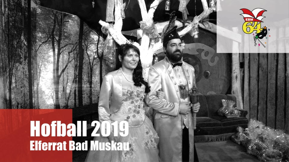 Elferrat Bad Muskau EBM Video Hofball Tom Scheppan 2019