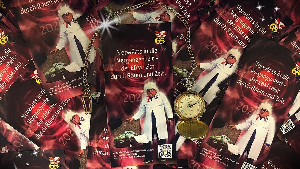 EBM Flyer 65. Karnevalssaison Bad Muskau 2020