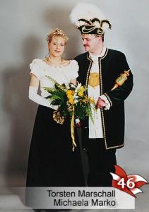 EBM 46. Bad Muskauer Prinzenpaar