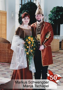 EBM 50. Bad Muskauer Prinzenpaar