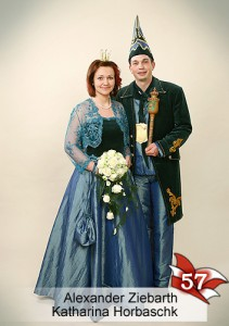 EBM 57. Bad Muskauer Prinzenpaar