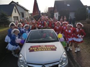 Karnevalsumzug in Rietschen